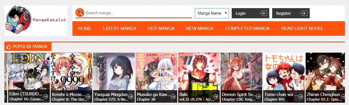Meilleurs sites manga