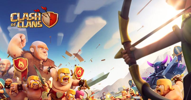 Clash of Clans pour Android, Meilleurs jeux Multijoueurs pour Android et iOS